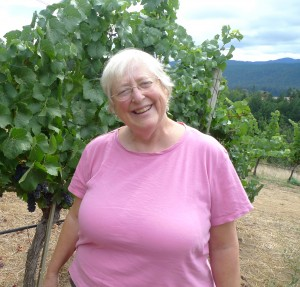 Deborah Cahn at Navarro Vineyards